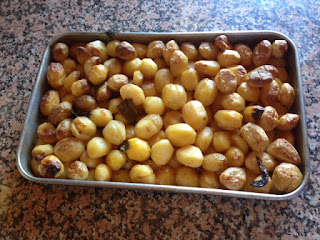 Batatas Assadas no Forno a Lenha á moda de Trás-os-Montes