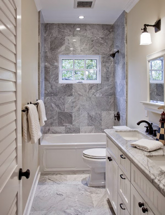 Redecorating and Creating a Small Bathroom - Home Improvement
