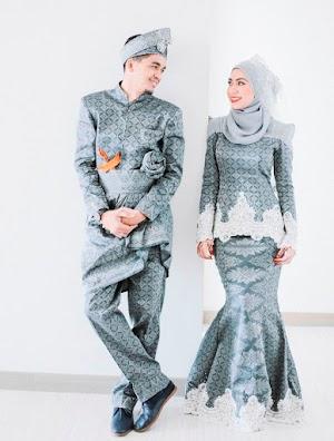Cantiknya Model Baju Kebaya Muslim Modern Dari Bahan Songket