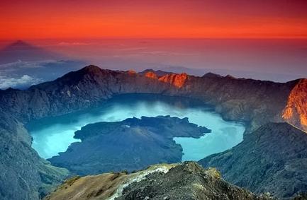 Gunung  Rinjani Lombok – Nusa Tenggara Barat