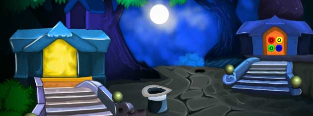 Juegos de escape - Full Moon Angel Escape