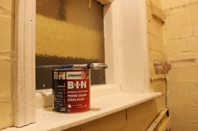 Zinsser BIN primer in use