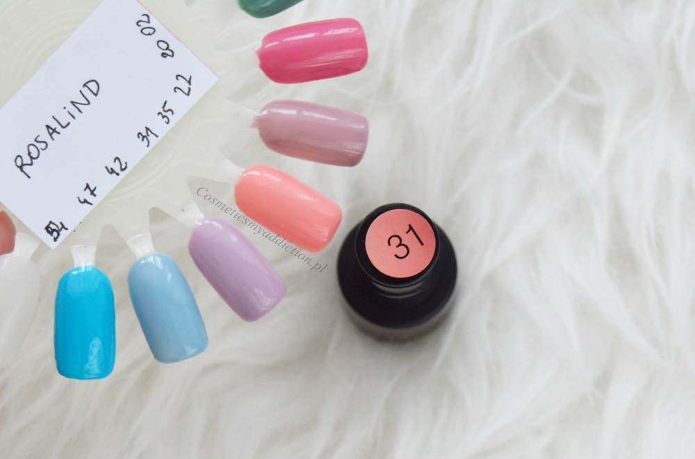 lakiery hybrydowe z aliexpress - bling i rosalind