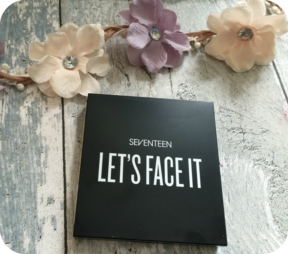 seventeen lets face it palette review