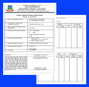 Surat Perintah Perjalanan Dinas (SPPD)