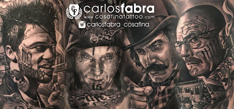 CosaFina tattoo Carlos Art Studio