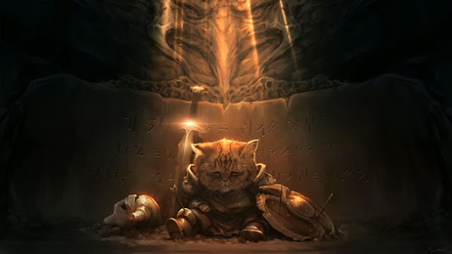 Saddest Khajit Wallpaper Engine