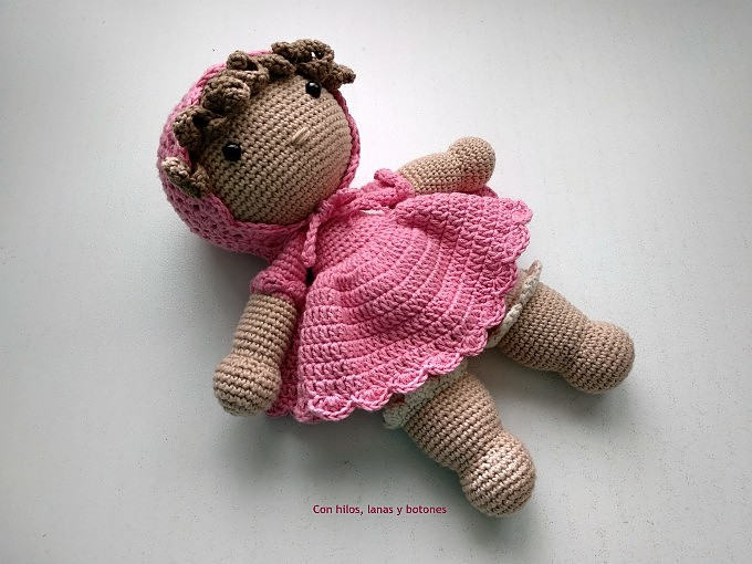 Con hilos, lanas y botones: Julieta amigurumi