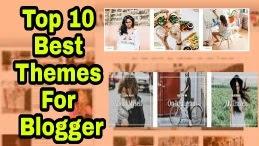 Top 10 Premium Looking Blogger Theme