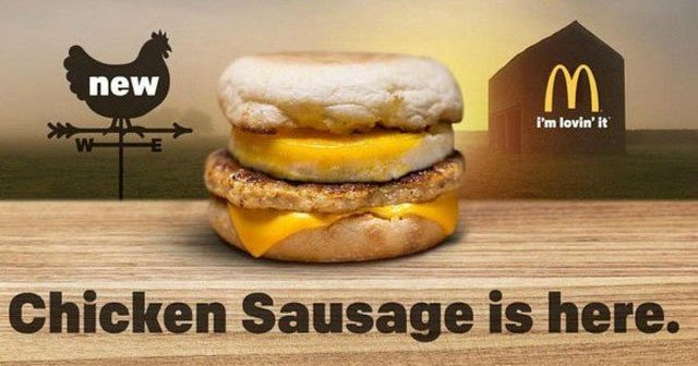 Mcdonald S Testing Chicken Sausage Patty Brand Eating