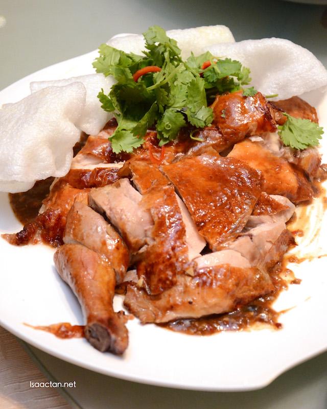 Crispy Roasted Chicken with Szechuan Pepper Hot Sauce