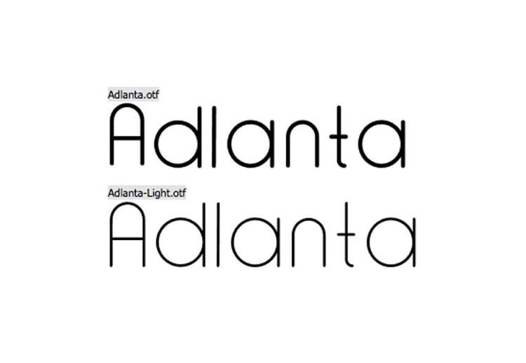 Font Edisi April 2017 - Adlanta Font