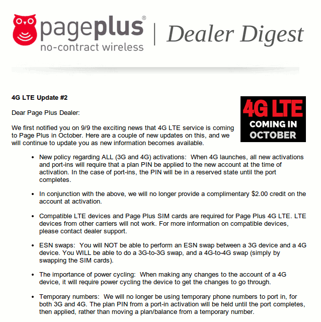 No More $2 Activation Credit, PagePlus Reveals Details of