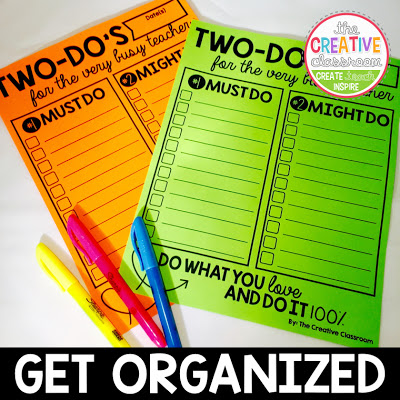 An amazing TWO DO list to help you tackle your lists and make sure you can handle everything!