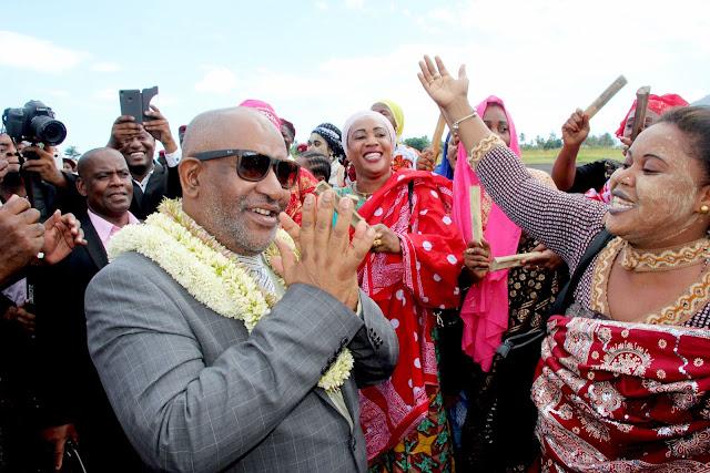 Gouverneur Salami contrecarre le plan d'Azali, qui est de retour à Anjouan