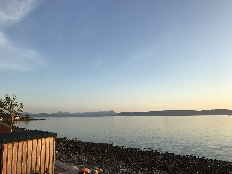 View towards Skye, from Applecross