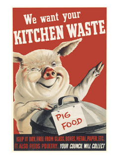 Join us in July 2013 in a month of not wasting food, nothing should be given to the bin and landfill, learn from the 1943 experiment and return to dig for victory!