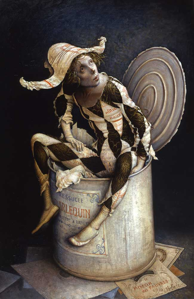 Claude Verlinde 1927 | French Surrealist painter