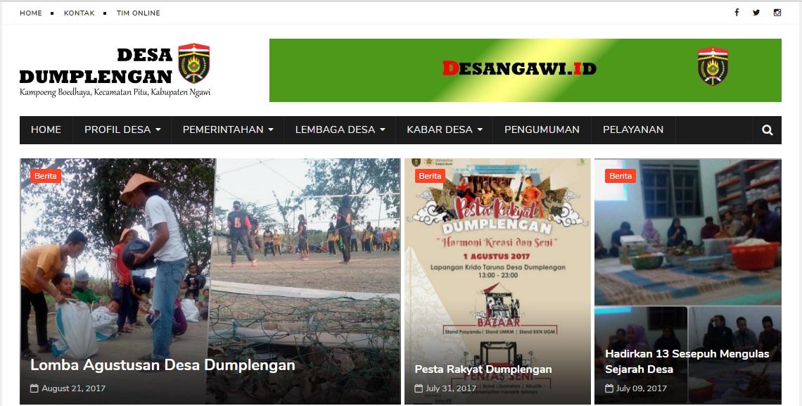 Web Desa Dumplengan