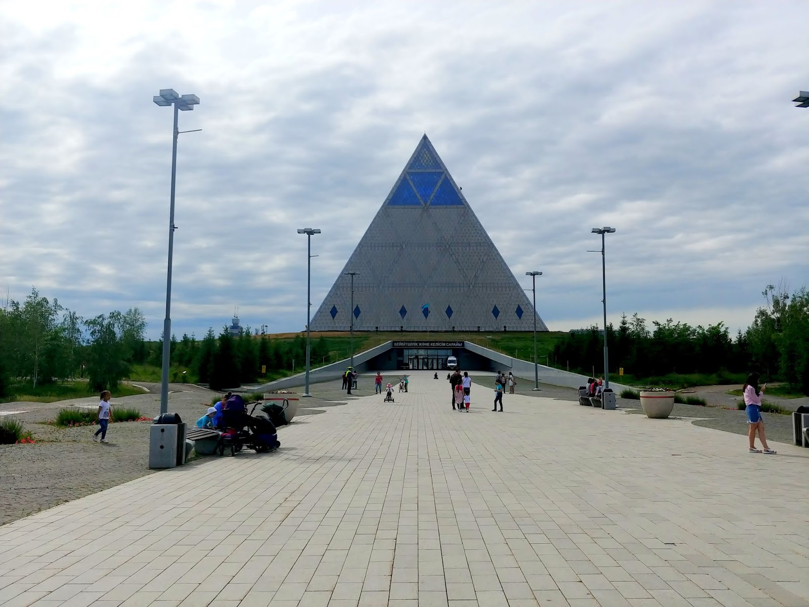piramida pokoju w Astanie