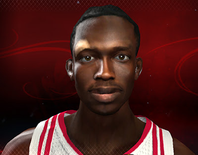 NBA 2K13 Patrick Beverley Cyberface Patch