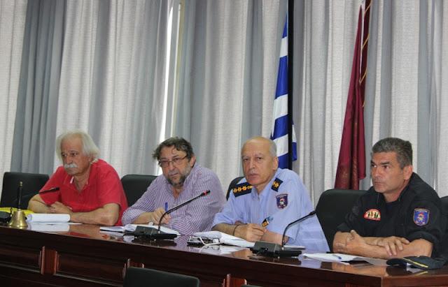 Συνεδρίαση για την αντιπυρική προστασία στο Δήμο Λαρισαίων
