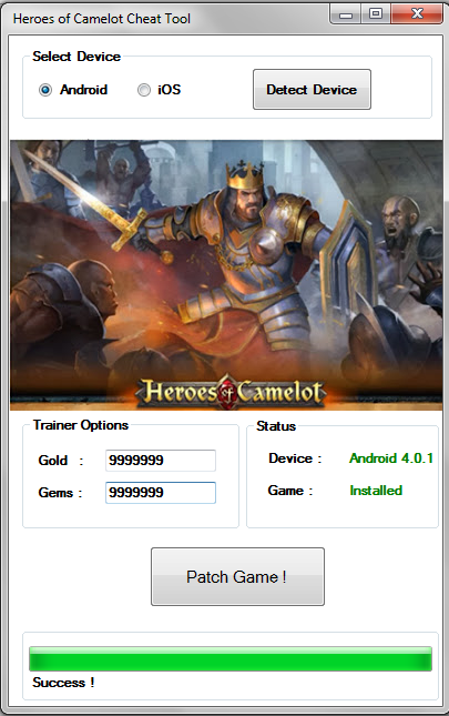 Heroes Of Camelot Hack