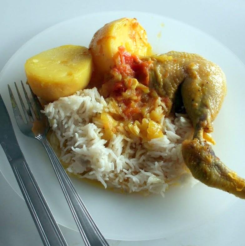 Food Recipe Basic Sudado De Pollo Or Sweaty Chicken
