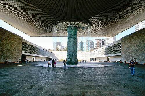 Museo de Antropologia e Historia. ciudad de Mexico