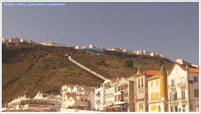 Portugal; sem guia; Europa; praia; oceano atlântico; Nazaré; cidade alta; ascensor; funicular