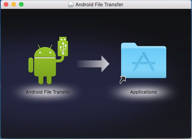 Android File Transfer di Mac