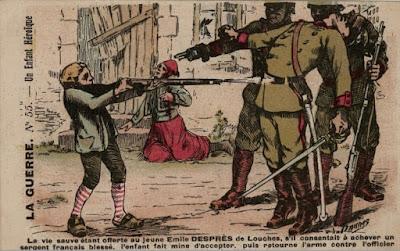 Carte illustrée, 1914 (Mission du centenaire)