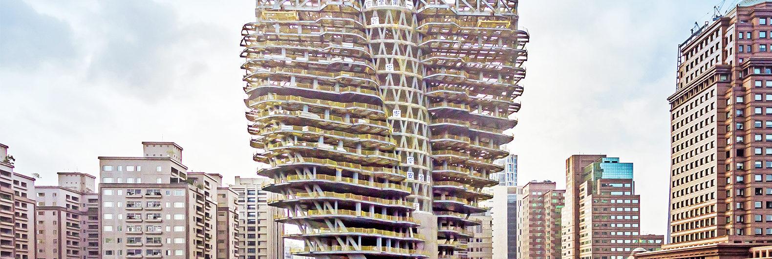 se espera que el llamativo edificio albergue el edificio de de lujo ms caro de taipei en uno de los sitios sealado ms grande