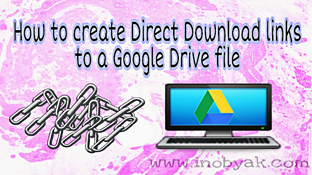 Create direct downloadable link