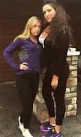 My tall beautiful girls