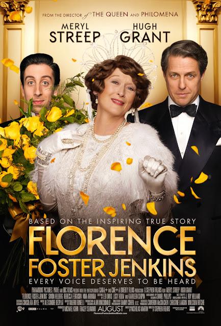 Póster y tráiler de 'Florence Foster Jenkins' con Meryl Streep y Hugh Grant