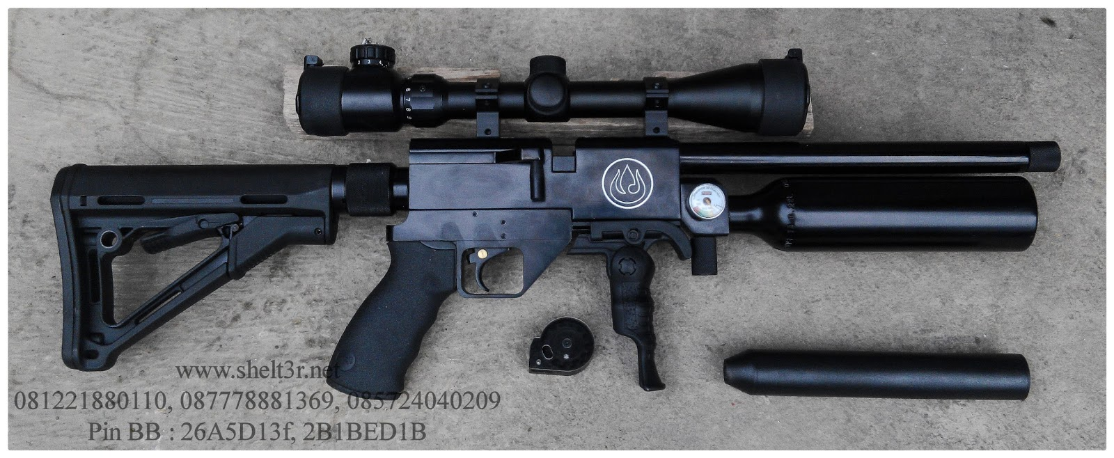 senapan angin pcp