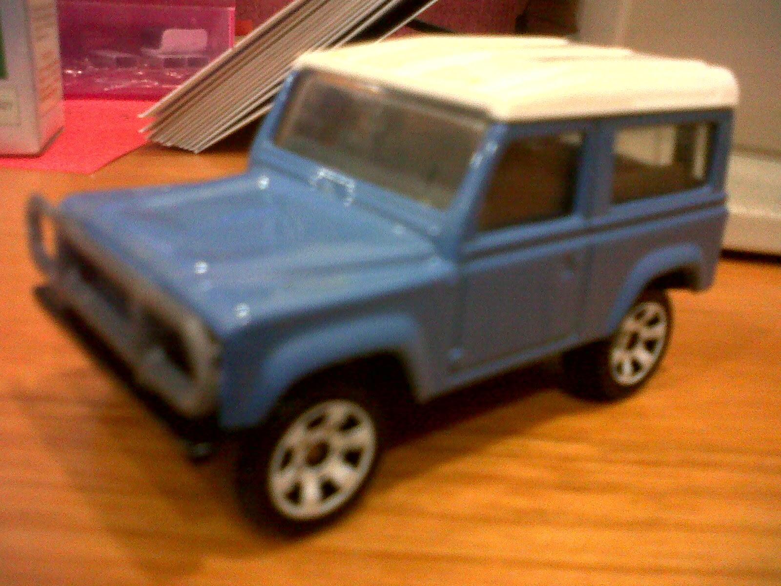 Jip Off Road 4x4 Land Cruiser Hardtop Rover Jeep Dll 1990 Toyota Fj40 Loose 90 Ninety Blue 450rb