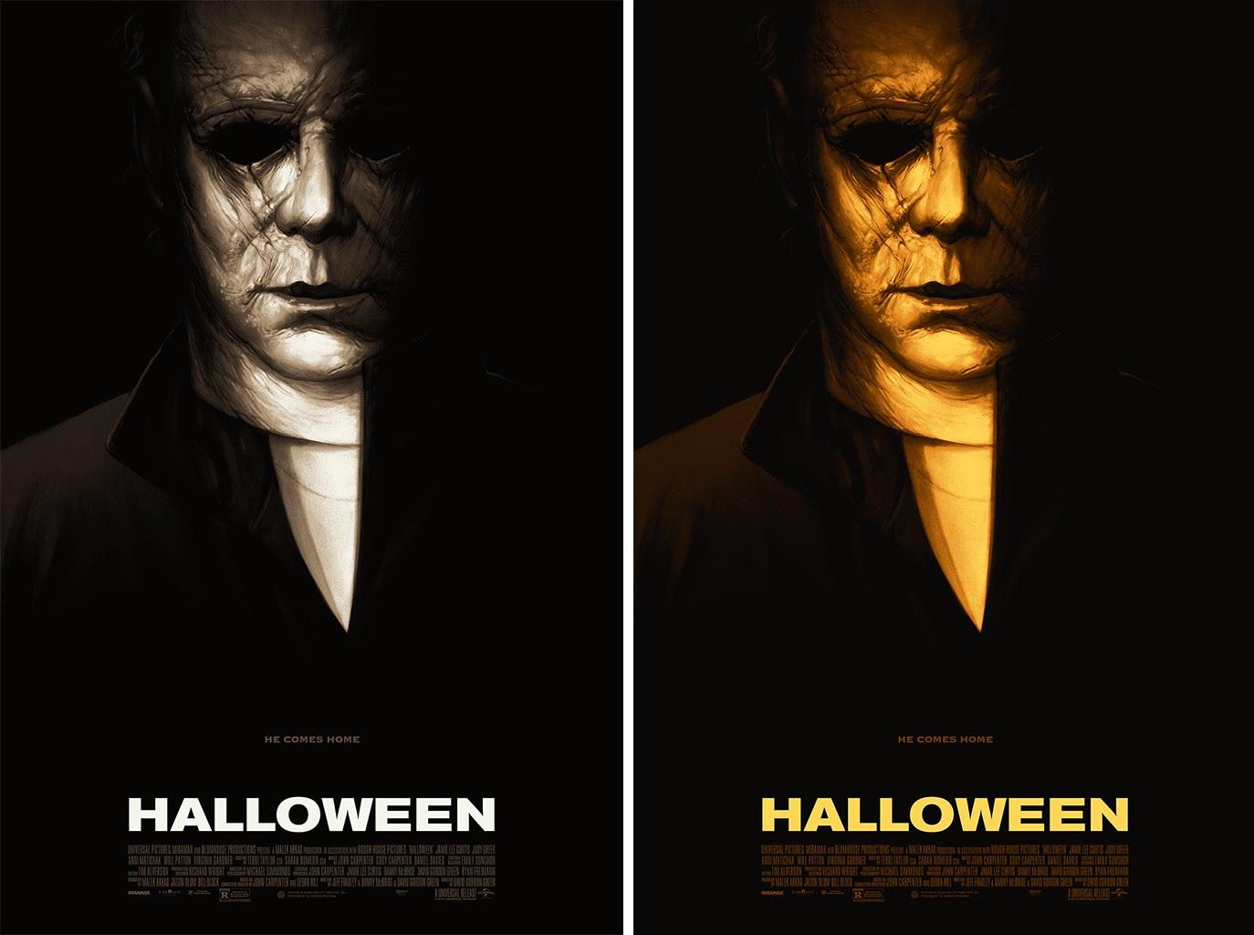 Matthew Peak Halloween 2 Print Poster BNG Mondo Artist NYCC 2018 Horror Classic