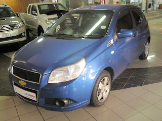 2009 Chevrolet Aveo 1.6 GLS – 5 speed manual