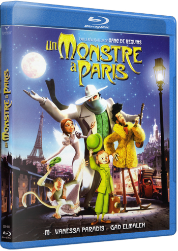 Un Monstruo En París 1080p HD MKV Latino