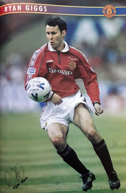 PIN UP RYAN GIGGS (MANCHESTER UNITED)