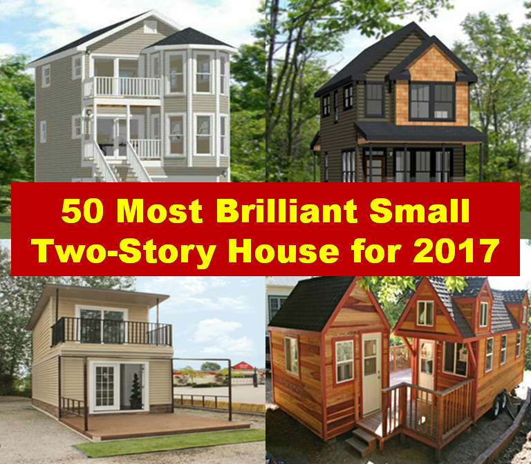 Small house plan is the ability to use small space that makes the home feel larger. Small two stories home is more affordable to build than big house and it easy to maintain. Here are some brilliant small two story houses for 2017.
