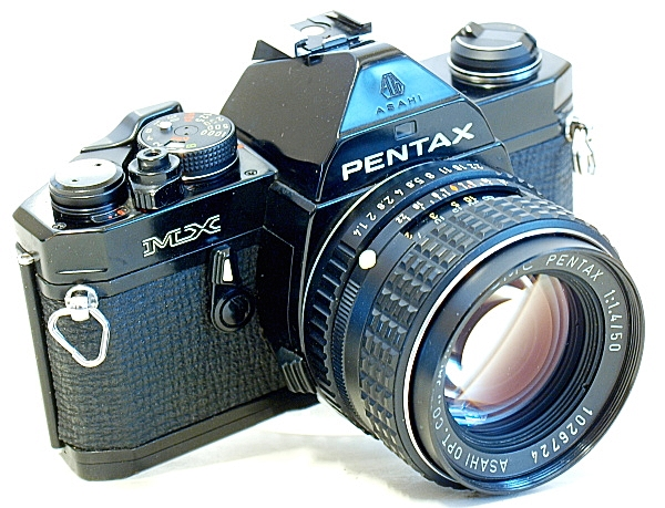 Pentax MX 35mm MF SLR Film Camera