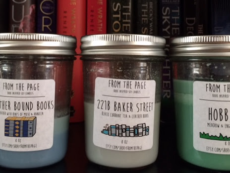 Review: From the Page Bookish Candles