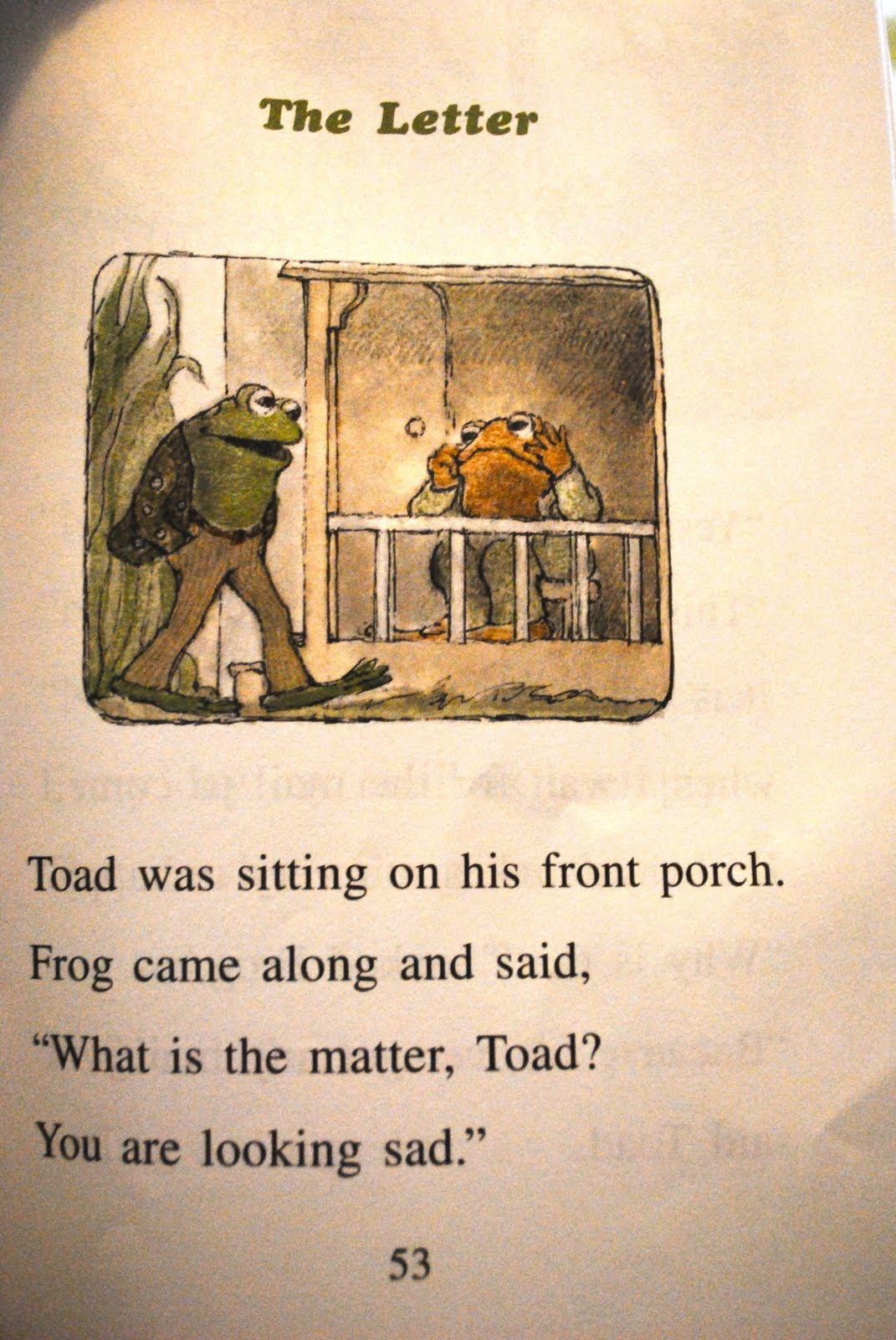 Old School New School Mom Toad I Have Sent You A Letter