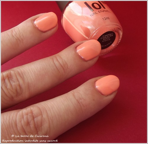 Vernis laqué LOL Rose Candy