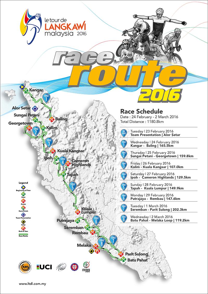Peta Laluan LTDL 2016