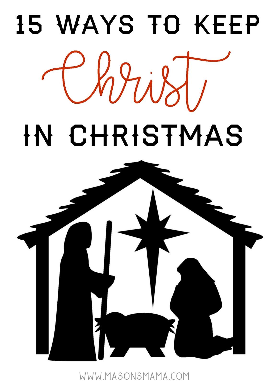 Hall Around Texas How to Keep Christ in Christmas