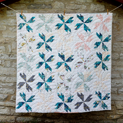 Tea Leaf Quilt Free Pattern